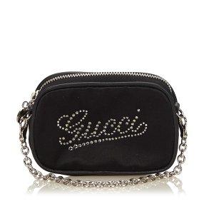 Gucci Pouch Bag black viscose