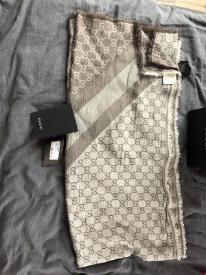 Gucci Zijden sjaal room