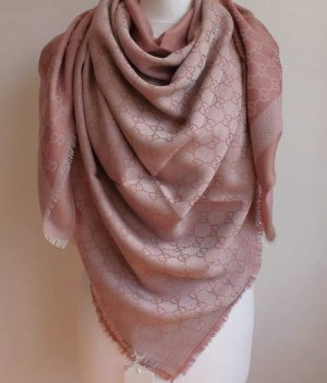 Gucci Silk Scarf pink-light pink
