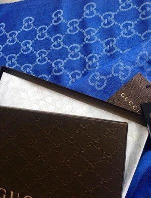 Gucci Sjaal blauw-azuur