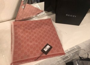 Gucci Woolen Scarf salmon-rose-gold-coloured