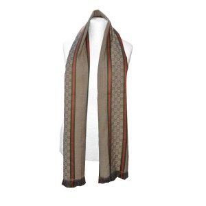 Gucci Schal aus Wolle und Seide