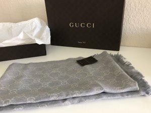 Gucci Chal veraniego color plata-gris claro Lana