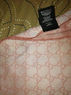 Gucci Sjaal rosé-stoffig roze Katoen