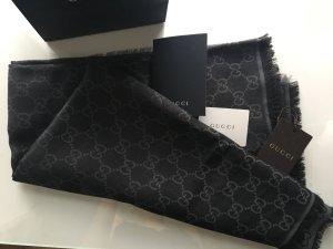 Gucci Halsdoek zwart-antraciet