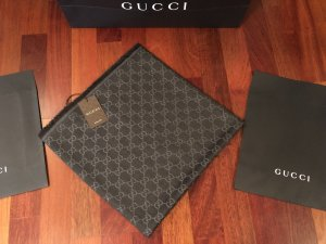 Gucci Schal Tuch 140x140 NEU Wolle/Selde