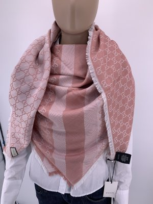 Gucci Woolen Scarf rose-gold-coloured