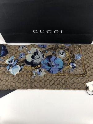 Gucci Schal Tuch Wolle 140x140 NEU