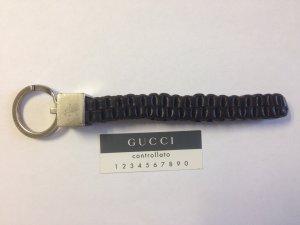 Gucci Schlüsselanhänger mit Leder vintage