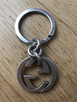 GUCCI Schlüsselanhänger Silber GG