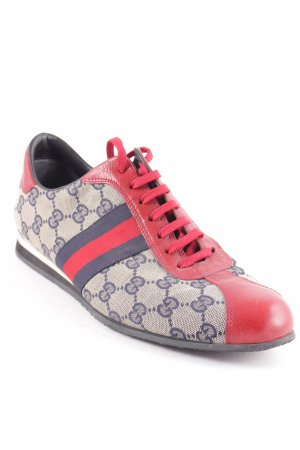 Gucci Lace-Up Sneaker multicolored athletic style
