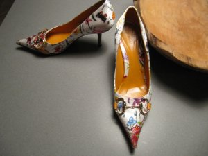 Gucci High Heels multicolored leather