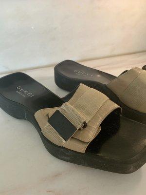 Gucci Platform Sandals multicolored
