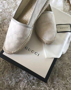 Gucci Alpargatas crema-blanco puro