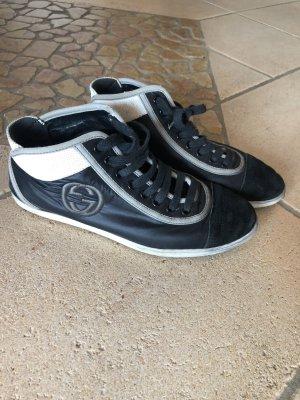 GUCCI Schuhe in Schwarz Weiß