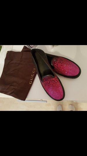 Gucci Schuhe pink schwarz