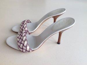 GUCCI Schuhe Sandaletten Leder