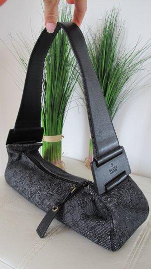 Gucci Borsa a tracolla grigio scuro-nero