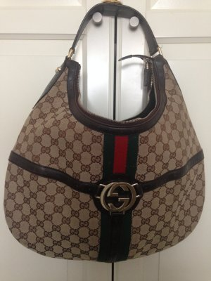 Gucci Borsetta marrone scuro