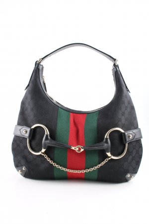 Gucci Schultertasche Allover-Druck Business-Look