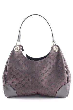Gucci Schultertasche braun-dunkelbraun Elegant