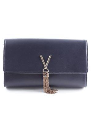 Gucci Sac porté épaule bleu foncé style extravagant