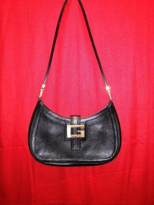 Gucci Schwarz-Gold, Handtasche