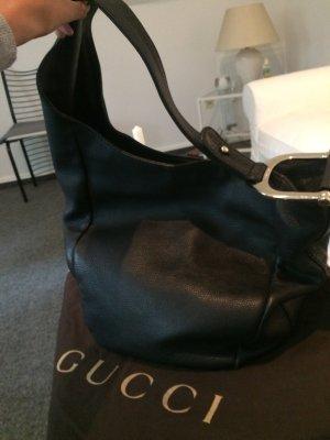 Gucci schwarze    Ledertasche