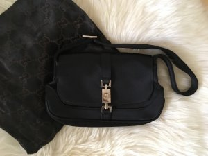 Gucci Handbag black silk