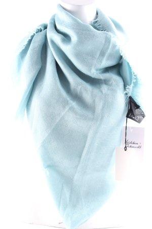"""Gucci Sciarpa di seta """"Guccissima Scarf Sky Blue """" azzurro"""