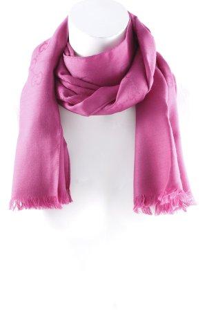 Gucci Zijden sjaal violet casual uitstraling