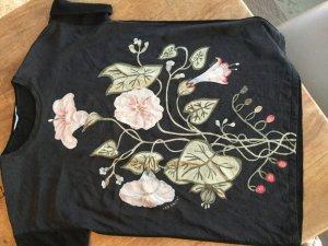 Gucci Seidenshirt mit Blumenprint