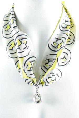 Gucci Foulard en soie Motif de monogramme élégant