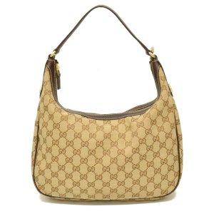 Gucci Borsa a tracolla marrone Fibra tessile