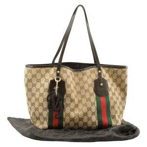 Gucci Tote brown textile fiber