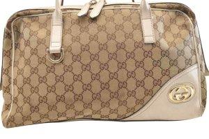 Gucci Tote bruin Textielvezel