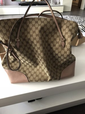 Gucci Borsa shopper beige Pelle