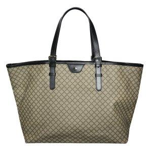 Gucci Shopper, Tasche, Canvas, Beige und Schwarz