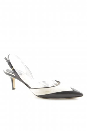 Gucci Slingback-Pumps schwarz-creme Business-Look