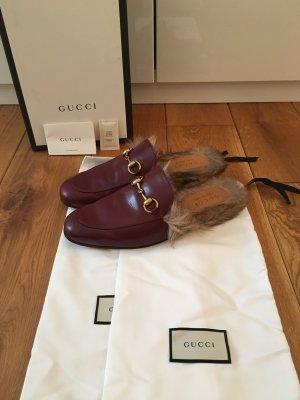 Gucci Shoes bordeaux leather