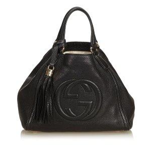 Gucci Small Soho Leather Handbag