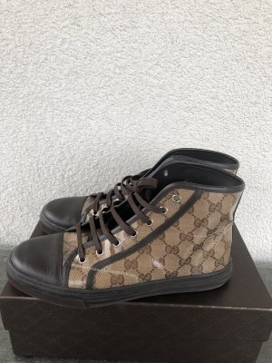 Gucci Sneakers bruin-zwart