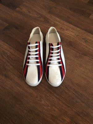 Gucci Sneaker Gr. 43, Weiß, Stoff, wie NEU!