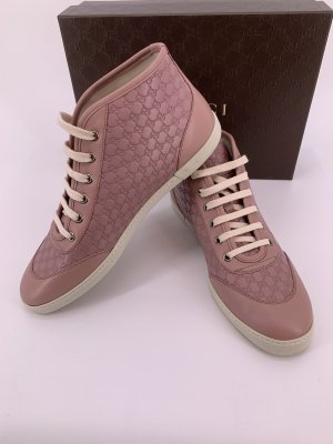 Gucci Sneaker Leder rosa GG