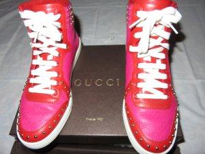 Gucci Sneakers met veters veelkleurig Leer