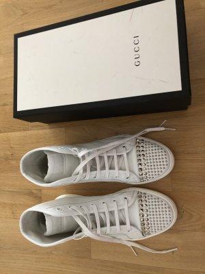 Gucci Chaussures blanc cuir