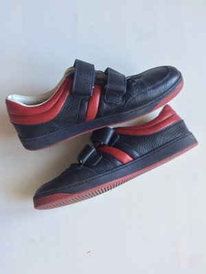 Gucci Velcro Sneakers dark blue-red