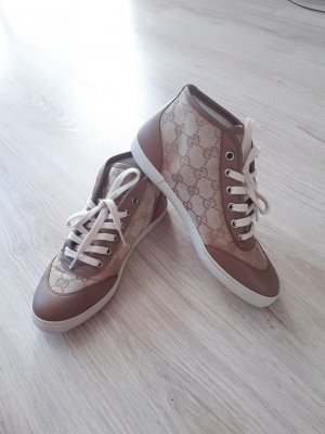 Gucci Skater Shoes ocher