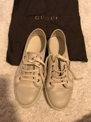 Gucci sneakers in beige