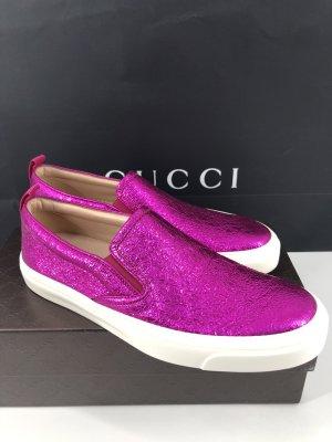 Gucci Sneakers Leder Große-38,5 NEU